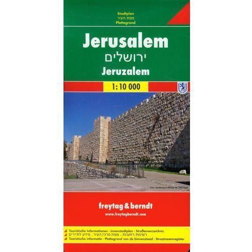 Jerozolima Plan Miasta 1:10 000