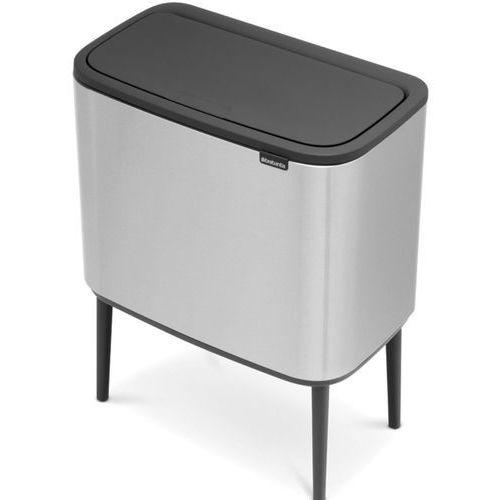 Kosz na śmieci BRABANTIA 315848 36 L Stalowy, kolor stalowy