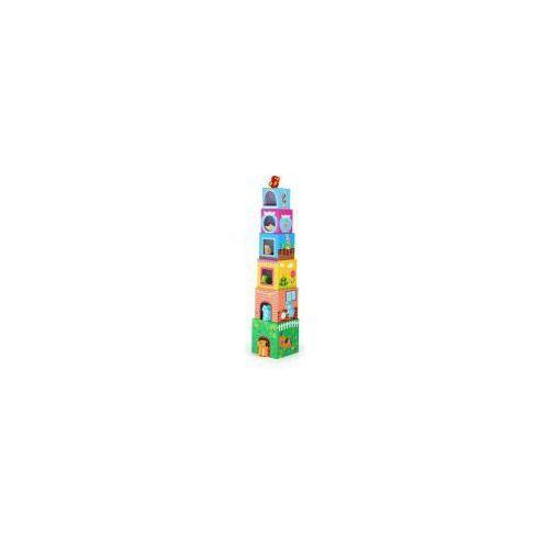 Wieża z pudełek Dom dla zwierzątka Small Foot (4020972100443)