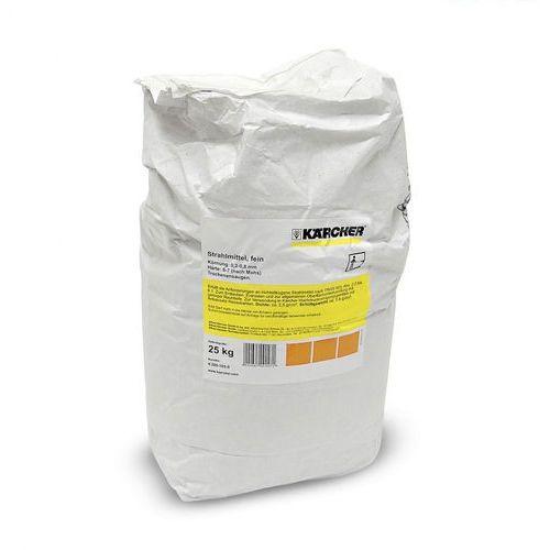 Karcher Ścierniwo do mokrego piaskowania, ziarnistość 0,2-0,8 mm, torba 25 kg ( 6.280-105.0), polska dystrybucja! (4002667001471)