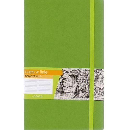 Antra Notes a5 linia romantyzm zielony (5904210019140)