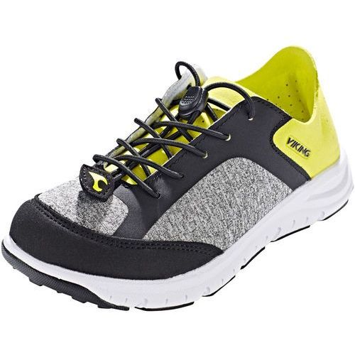 Viking ullern obuwie hikingowe grey/lime marki Viking footwear