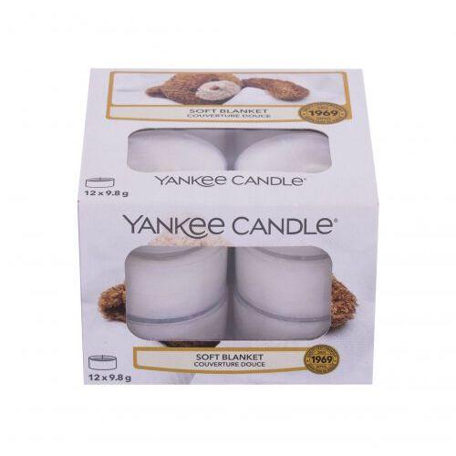 Yankee candle soft blanket świeczka zapachowa 117,6 g unisex (5038580061710)