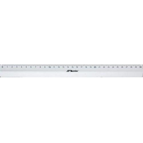 Linijka aluminiowa LENIAR z uchwytem 20cm 30286