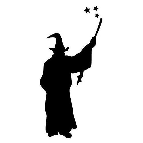 Szablon malarski z tworzywa, wielorazowy, wzór dla dzieci 48 - Dobry czarodziej