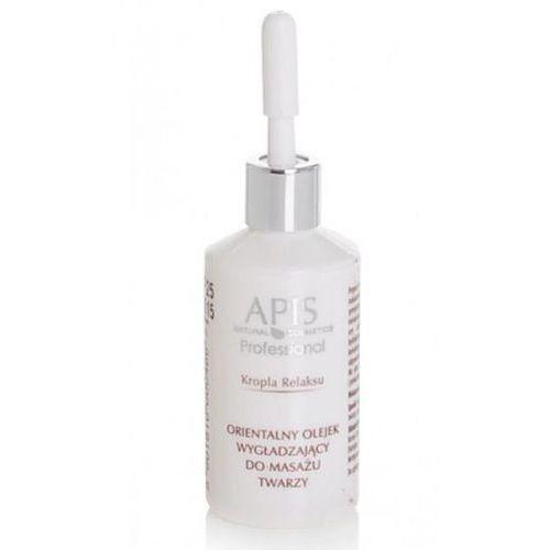 orientalny olejek wygładzający do masażu twarzy 30ml wyprodukowany przez Apis