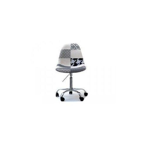 Krzesło Kosmetyczne Sardynia Tapicerowane Patchwork 2