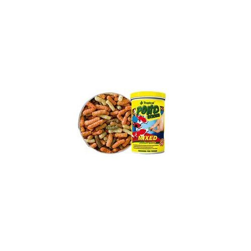 pond sticks mixed - pokarm o niskiej zawartości fosforu 11l/900g marki Tropical