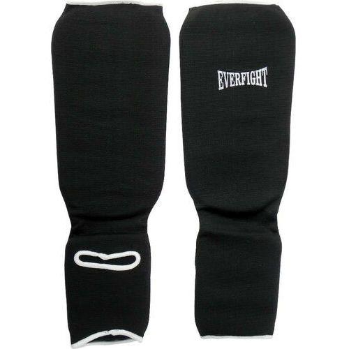 Everfight Ochraniacz goleń stopa bawełna l black, kategoria: ochraniacze i kaski do sportów walki