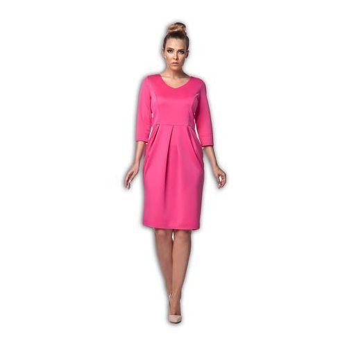 L104 fuksja sukienka
