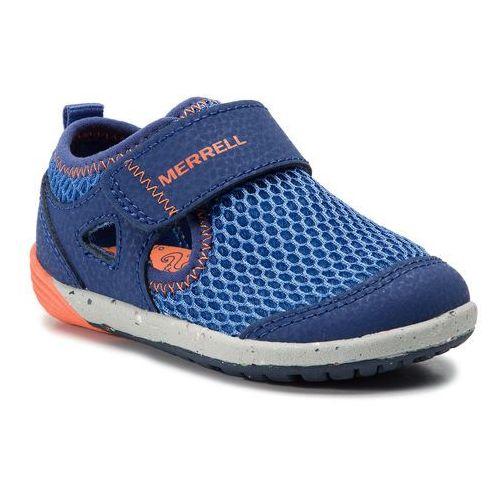Półbuty MERRELL - M-Bare Steps H20 ML260875 Blu/Org, kolor niebieski