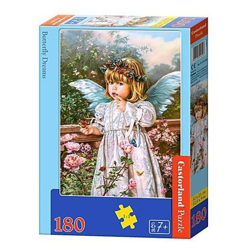 Castorland Puzzle . 180 elementów. butterfly dreams (b-018208) + zakładka do książki gratis