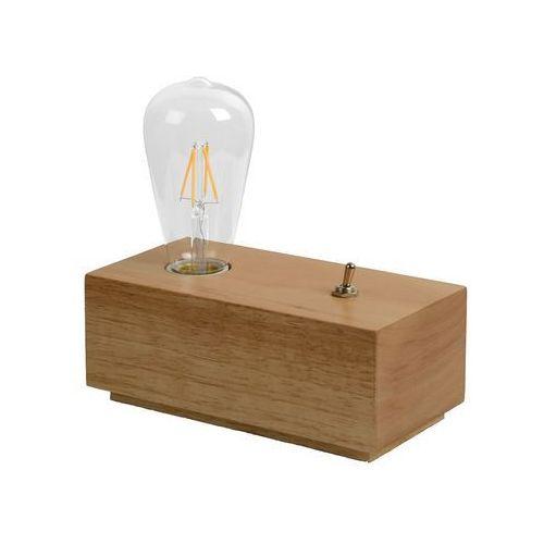 Lucide EDISON lampa stołowa Brązowy, 1-punktowy - Nowoczesny - Obszar wewnętrzny - EDISON - Czas dostawy: od 4-8 dni roboczych (5411212082527)