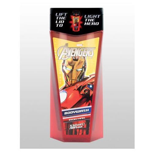 Corsair _avengers body wash iron man 532ml, kategoria: body niemowlęce
