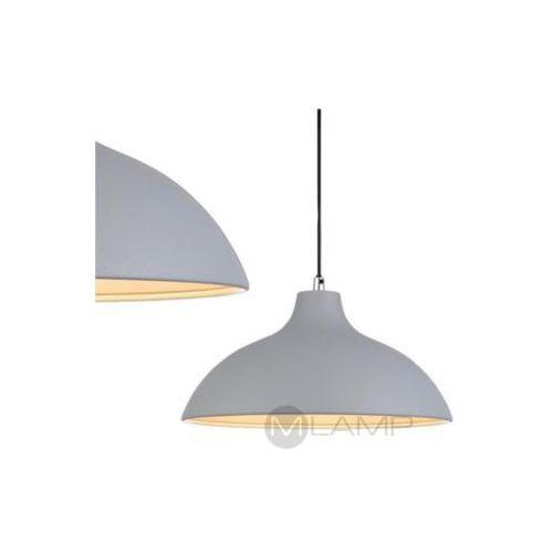 Markslojd Lampa wisząca chandler 106207 metalowa oprawa klasyczna kopuła zwis szary (7330024557215)