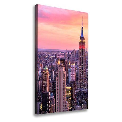 Foto obraz na płótnie Nowy Jork zachód