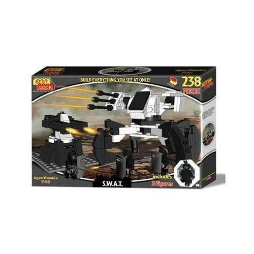 Klocki Best Lock S.W.A.T Robot i wieżyczka 236 elementów