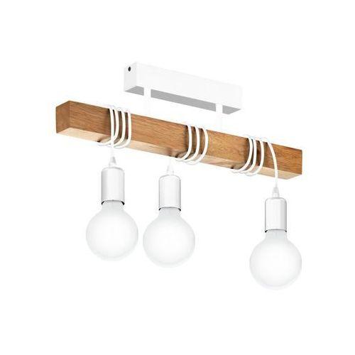 Lampa wisząca Townshend biała E27 Eglo (9002759331665)