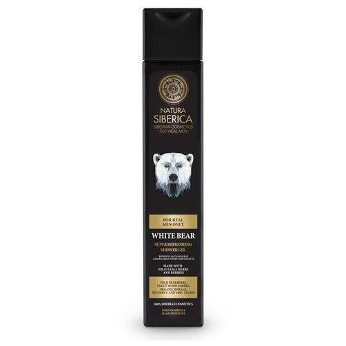 Natura Siberica - Orzeźwiający żel pod prysznic dla mężczyzn Niedźwiedź polarny 250 ml, SIB-017