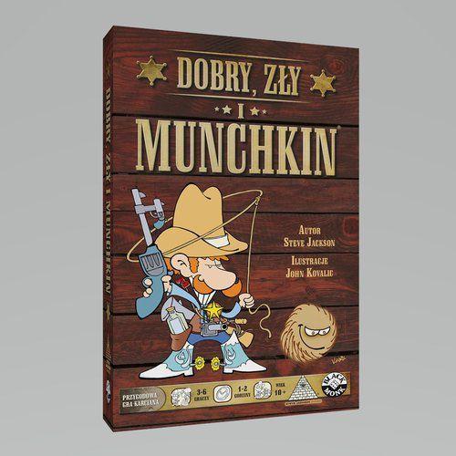 Dobry Zły i Munchkin - BLACK MONK DARMOWA DOSTAWA KIOSK RUCHU