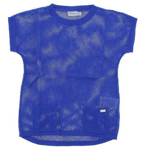 Geox Sweter dziecięcy Niebieski 6 lat, kolor niebieski