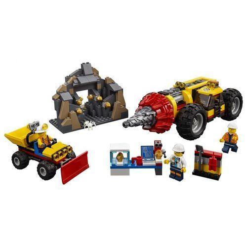 60186 CIĘŻKIE WIERTŁO GÓRNICZE (Mining Heavy Driller) KLOCKI LEGO CITY
