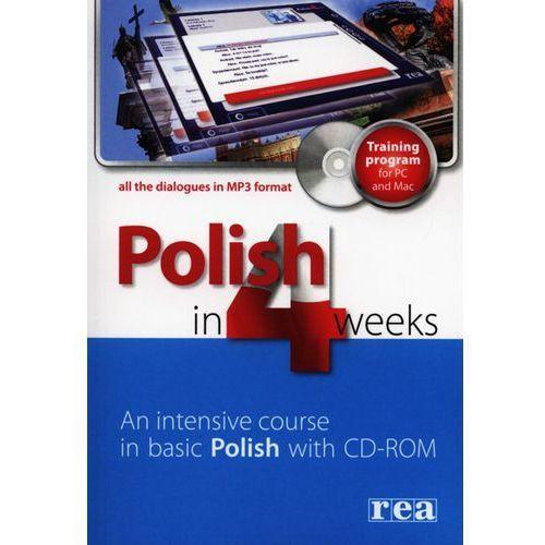 Polish in 4 Weeks. Wersja Angielska + CD. Poziom 1