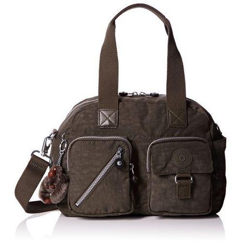 damskie defea torby na ramię, 33 x 25 x 19 cm - zielony - 33x25x19 cm marki Kipling