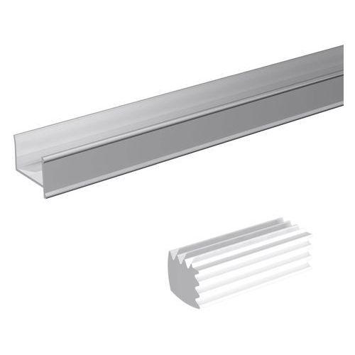 Profil mocujący do lustra c18 l2000 srebro marki Valcomp