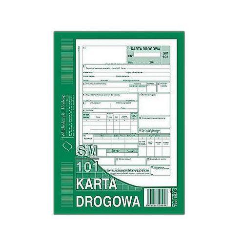 Michalczyk i prokop Karta drogowa a5 80k numerowana 802-3n (samochód osobowy sm/101)