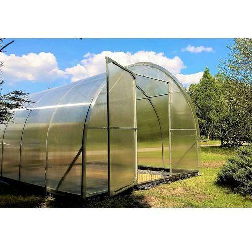 Emaga Szklarnia ogrodowa maja 18m2 (3x6 m) poliwęglan 4 mm