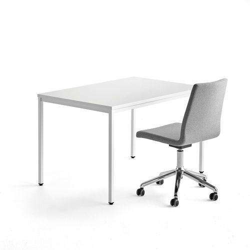 Aj produkty Zestaw biurko modulus, krzesło konferencyjne perry