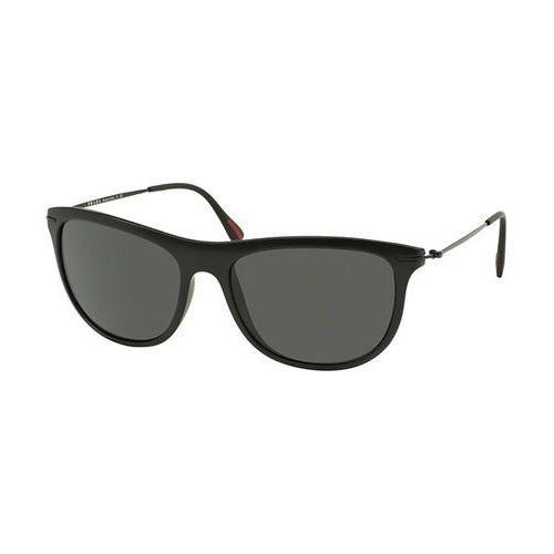 Prada linea rossa Okulary słoneczne ps01ps red feather 1bo1a1