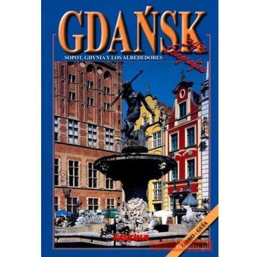 Gdańsk, Sopot, Gdynia y los alrededores, książka w oprawie broszurowej