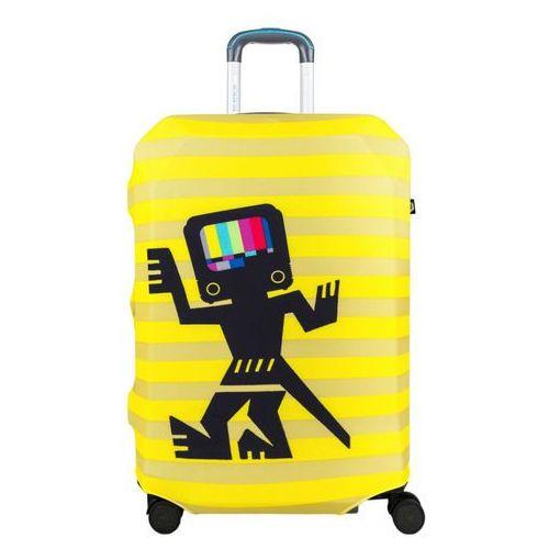 BG Berlin pokrowiec na dużą walizkę / rozmiar L / Caveman Yellow - Caveman Yellow (6906053039612)