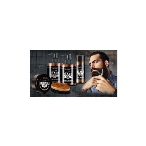 Renee blanche h.zone beard zestaw olejek, szampon, wosk, balsam, szczotka ronney marki Renee blanche h-zone