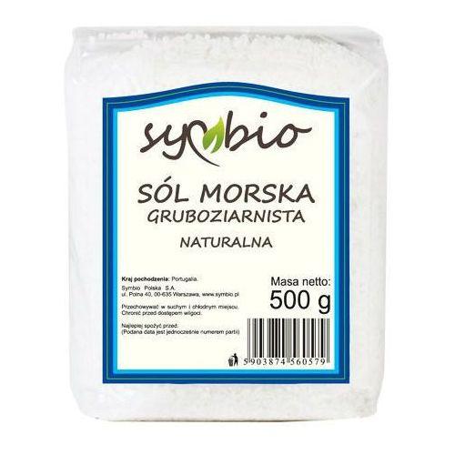 Sól morska gruboziarnista 500g -  marki Symbio