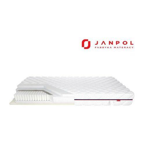 Janpol nolli – materac multipocket, sprężynowy, rozmiar - 200x190, pokrowiec - pixel wyprzedaż, wysyłka gratis, 603-671-572