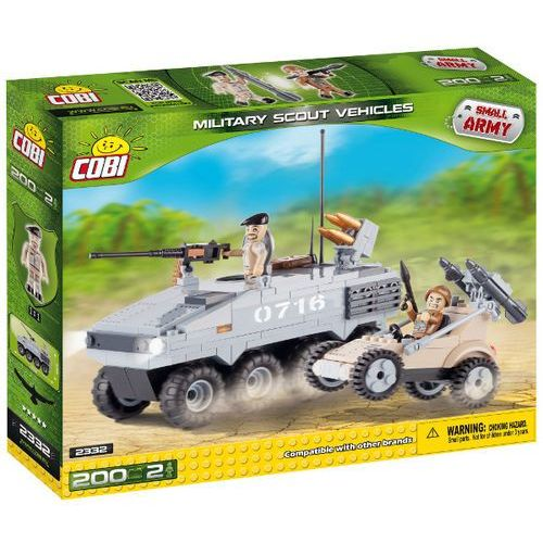 Cobi Klocki SMALL ARMY Transporter 2332