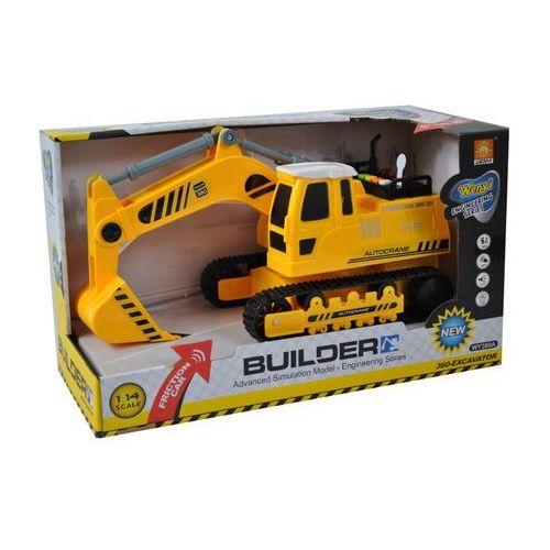 Maszyna budowlana - koparka z ruchomymi elementami (światło/dźwięk) 1:14 marki Gazelo toys