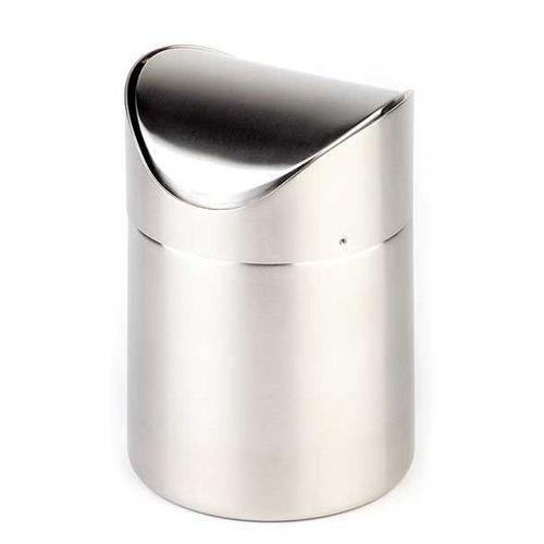 Stołowy Pojemnik na Odpadki | Nierdzewny | Ø120x170 mm