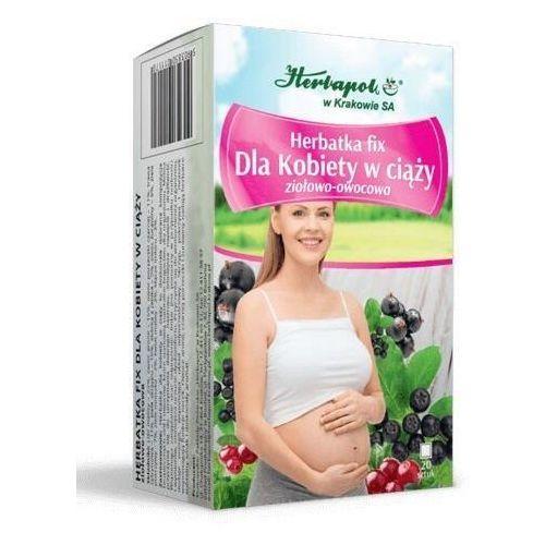 Herbatka fix dla kobiety w ciąży x 20 saszetek marki Herbapol kraków