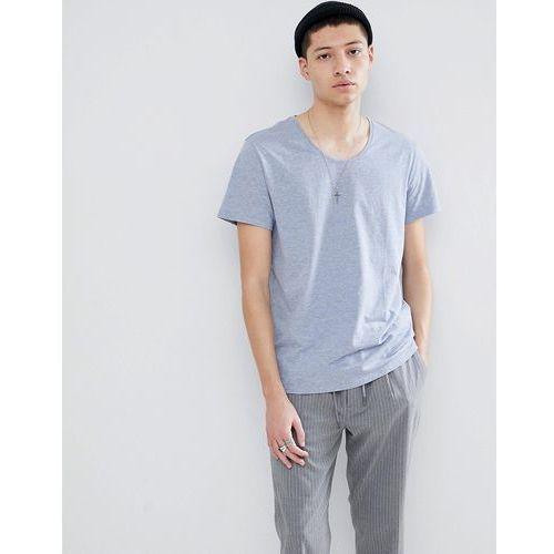 Weekday Daniel T-Shirt In Light Blue - Blue, w 4 rozmiarach