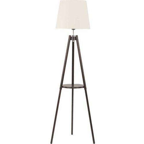 Tklighting Lampa oprawa podłogowa stojąca tk lighting lozano 1x60w e27 ecri 1092