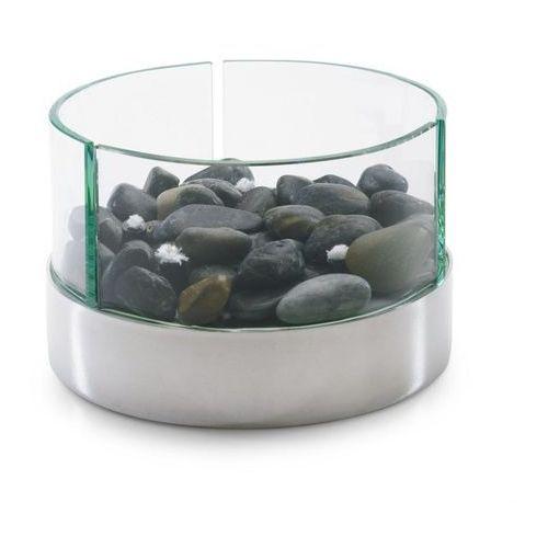 Philippi – Lampa oliwna z kamieniami - okrągła