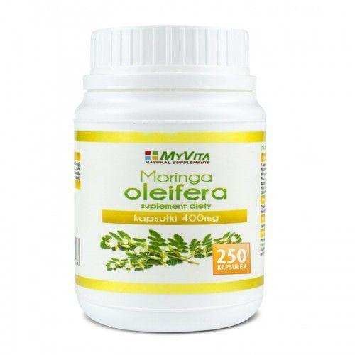 Moringa oleifera MyVita 250 kapsułek, produkt z kategorii- Leki na wzmocnienie wzroku i słuchu