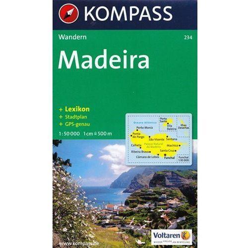 Madera mapa 1:50 000 Kompas, Kompass