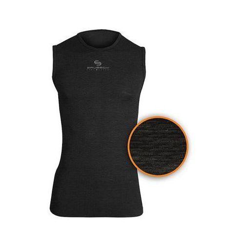 Brubeck Koszulka unisex base layer bez rękawów sl10100  (kolor: biały, rozmiar: m )