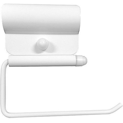 Uchwyt na papier toaletowy do poręczy dla niepełnosprawnych - biały marki Faneco