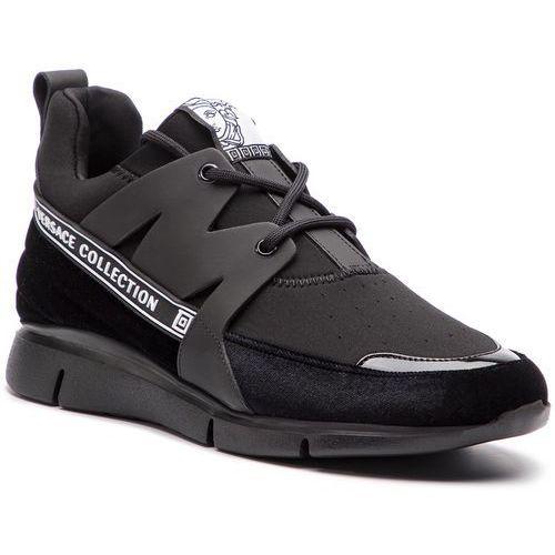 Versace Sneakersy collection - v900724 vm00418 va07 nero/nero/nero/nero/ne